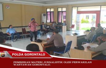 Diperlukan, Sinergi Jurnalis dan Polda Gorontalo
