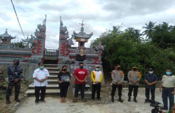 Forkopimda Gorontalo Sambangi Orangtua Prajurit KRI Nanggala