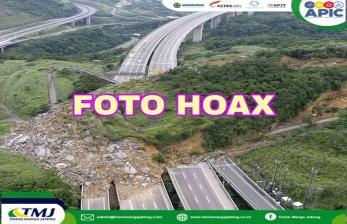 Kementerian PUPR: Foto Longsor di Tol Semarang-Solo <em>Hoax</em>