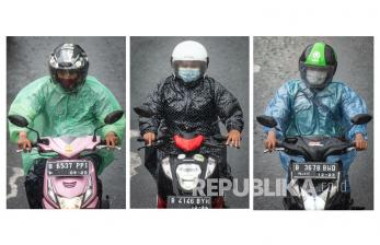 In Picture: Jakarta Masuki Puncak Musim Penghujan