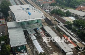 In Picture: Progres Revitalisasi Stasiun Bekasi Sudah Capai 77 Persen
