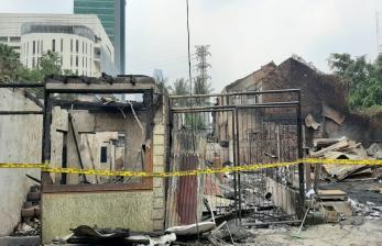Kebakaran Diawali Mati Listrik di Lantai Dua Sebuah Rumah
