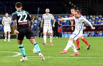 Eriksen Selamatkan Inter dari Kekalahan