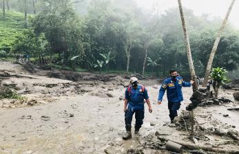 Pengungsi Banjir Puncak Berangsur-angsur Kembali ke Rumah