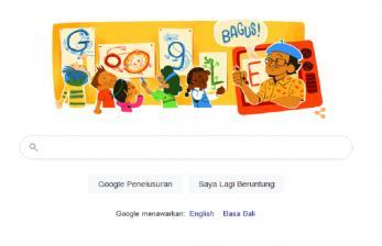 Tino Sidin, Guru Gambar Legendaris Muncul di Doogle Google