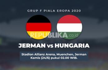 Ini Susunan Pemain Jerman vs Hungaria