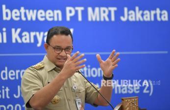 Gubernur Anies: Jakarta Sudah Siapkan Rem Darurat