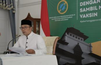Ridwan Kamil Kembali Usul Pemberian Vaksin Digelar di Gedung