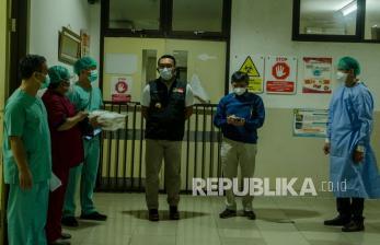 Ridwan Kamil Sebut BOR Kota Bandung Capai 85 Persen