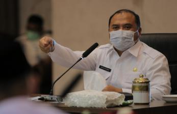 Gubernur Babel Minta PKL Taati Protokol Kesehatan Covid-19