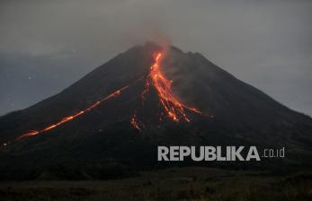 Gunung Merapi Tiga Kali Meluncurkan Guguran Lava Pijar
