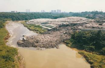 Longsoran Sampah Cipeucang Ditargetkan Rampung dalam Sepekan