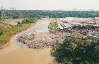 Warga Serpong Keluhkan Bau Sampah Semakin Menyengat