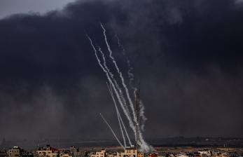 Saat Hamas Membalas Aksi Israel