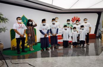 Sambut Ramadhan, Huawei Beri Bantuan untuk Anak Yatim