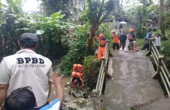 Enam Kejadian Bencana Akibat Cuaca Ekstrem Landa Sukabumi