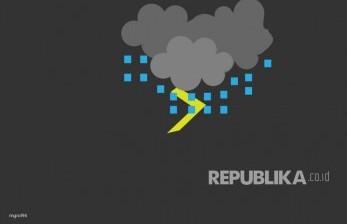 Kota Cimahi Dilanda Hujan Butiran Es