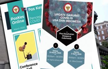 Diaspora Indonesia di AS Gotong Royong Atasi Covid-19