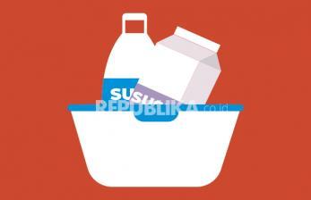 Infografis Cara Tepat Menyimpan Susu