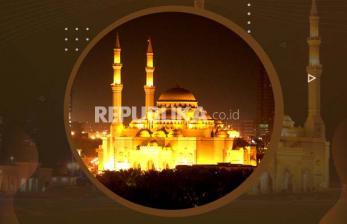 Infografis Masjid Sharjah Termegah di Emirat