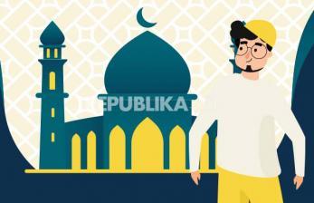 Infografis Mendahulukan Kaki Kanan Saat Masuk Masjid