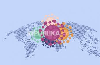 Infografis Mutasi Virus Corona di Dunia