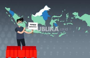 PPKM Mikro Diperluas ke 5 Provinsi Baru