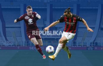 INFOGRAFIS Torino vs AC Milan: Demi Tiga Angka