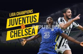 Infografis Juventus vs Chelsea
