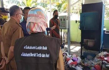 Pemkot Sukabumi Uji Coba Alat Pengurai Sampah di Desa
