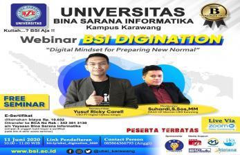 Webinar BSI Digination Kupas  New Normal