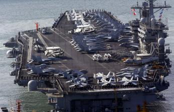 Kapal AL China dan AS Berebut Pengaruh di Laut China Selatan