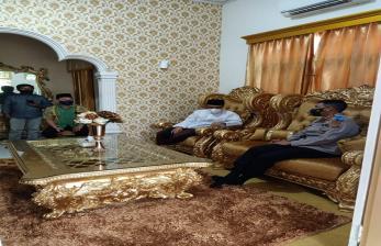 Kapolda Gorontalo Temui Ketua MUI Bahas Radikalisme