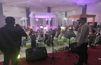 Pesta Pernikahan Anak Pejabat Dibubarkan Polisi