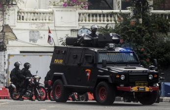 Ratusan Polisi Diterjunkan untuk Antisipasi Demo Tolak PPKM