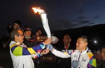 Pino Bahari: Kirab Api PON Papua Tingkatkan Motivasi Atlet
