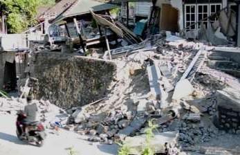 Dua Gempa Berurutan Kembali Guncang Lombok