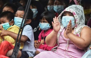 Anak-anak Korban Banjir Gunung Mas Dapat <em>Trauma Healing</em>