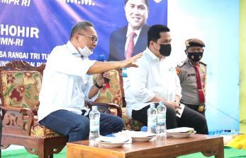 Erick Thohir dan Zulhas Beri Solusi Keluhan Nelayan Lampung