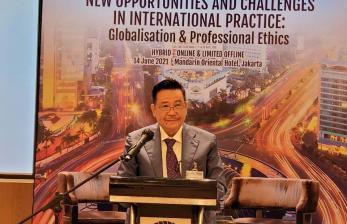 Seminar Internasional untuk Tingkatkan Wawasan Advokat