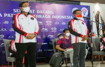 Ketum PBSI Sambut Kloter Pertama Tim Bulu Tangkis Indonesia