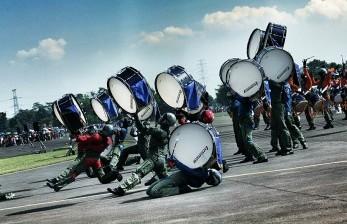 Panglima TNI Resmikan Lapangan Putra Angkasa AAU di Yogya