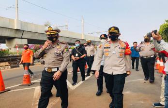 Cegah Kerusuhan Polres Jaksel Bakal Skrining Kelompok Anarko