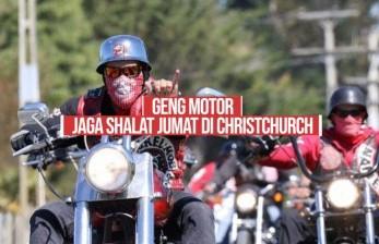 Besok, <em>Geng </em>Motor Jaga Shalat Jumat di Christchurch
