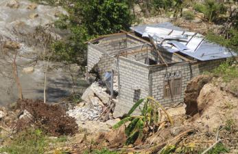 In Picture: Pemkot Kupang Terus Data Rumah yang Rusak Akibat Longsor