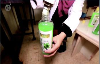 Kosmetik Herbal Karya Wanita di Gaza