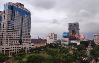 Kebijakan WFH dan Hujan Perbaiki Kualitas Udara Jakarta