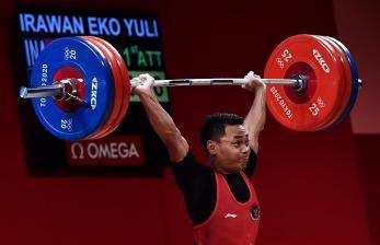 Eko Yuli Irawan Sumbang Medali Perak Bagi Indonesia