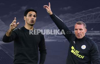 Rodgers : Arteta Mampu Ubah Struktur Permainan the Gunners