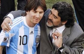 Mengapa Maradona dan Messi, Kerap Dibandingkan?